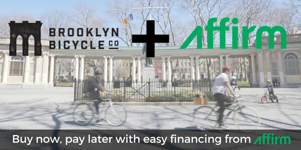 Brooklyn Bicycle Co. + Affirm