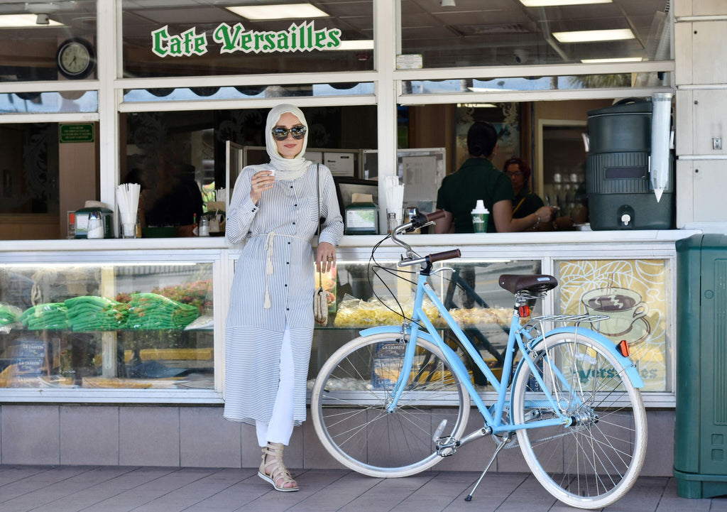 Shah Hatun at Cafe Versailles, Miami FL