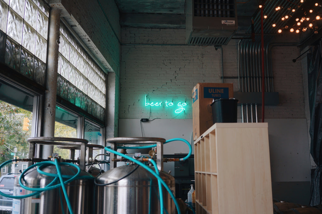 Lamplighter Beer To Go Neon Sign Cambridge