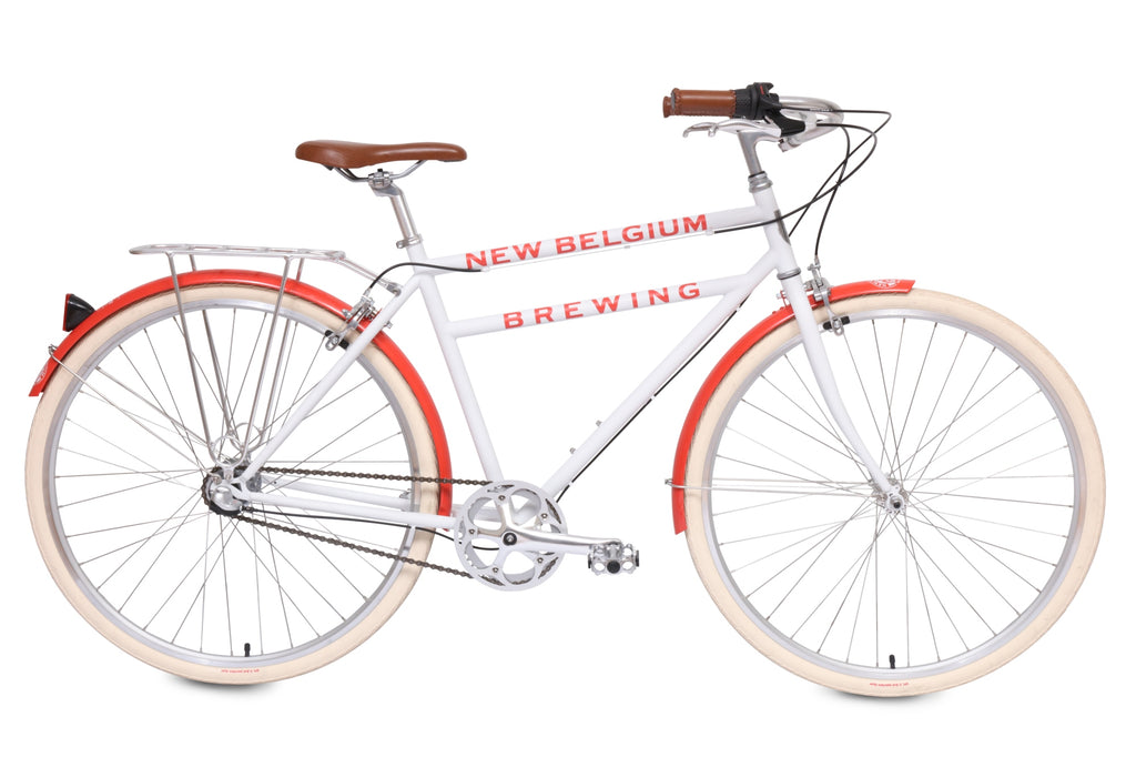 Brooklyn Bicycle Co. x New Belgium Brewing 2019 Cruiser Bikes