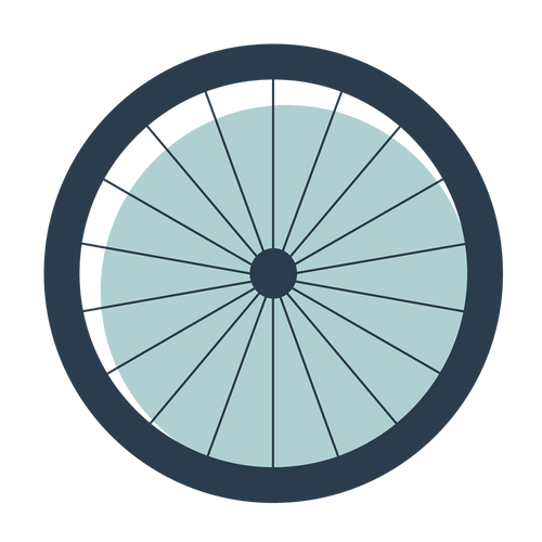 Wide tires icon