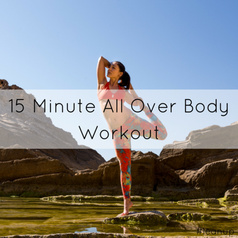 15 Minute All Over Body Workout