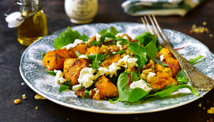 Fall Harvest Feta Salad