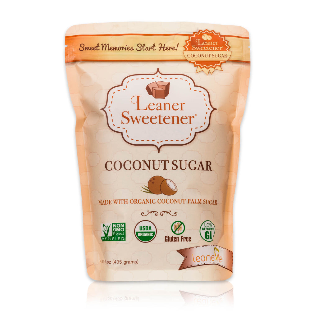 Leaner Sweetener Coconut Sugar - 1 LB Pouch