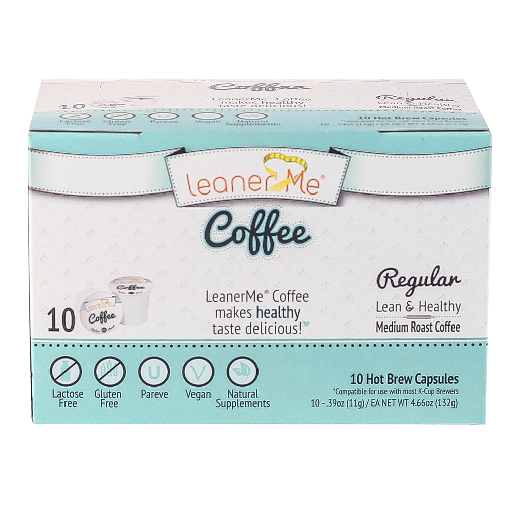 LeanerMe Coffee - Hot Brew Capsules - 2 Pack Bundle