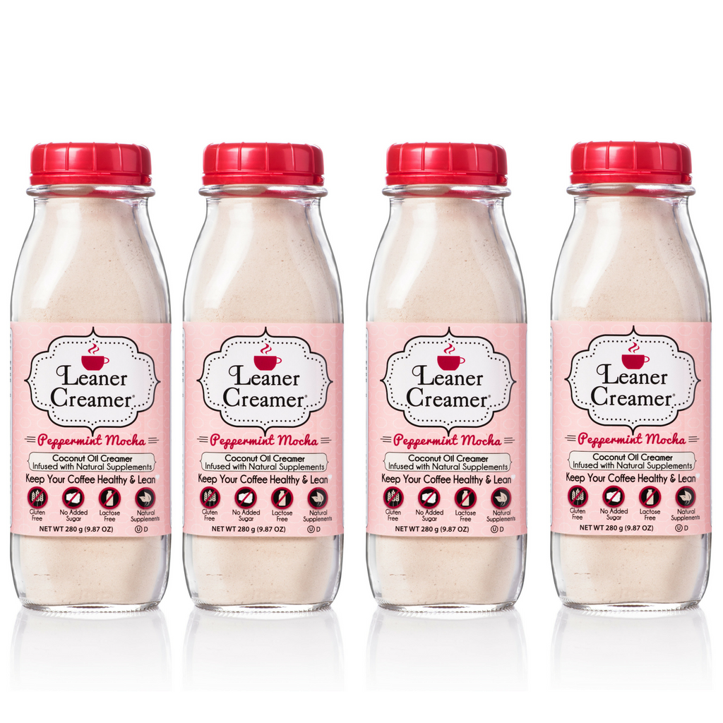 Leaner Creamer -Flash Sale - Peppermint Mocha 4 Pack