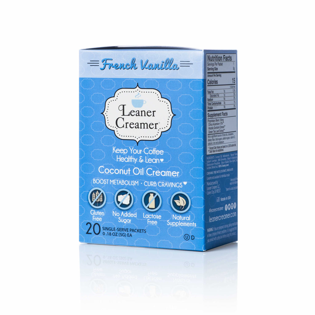 Leaner Creamer -Luscious French Vanilla Travel Box (20 Packets)