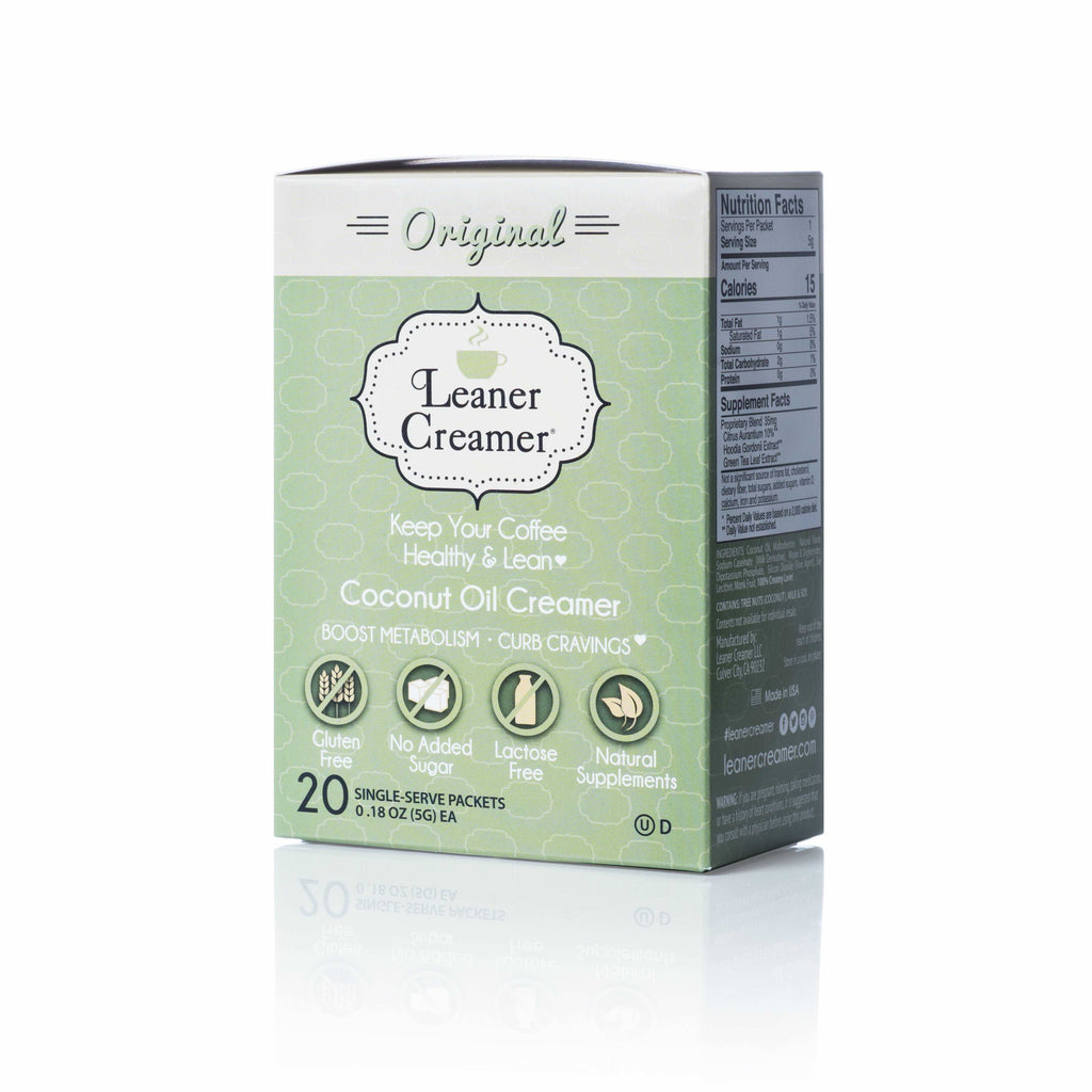 Leaner Creamer - Original Travel Box (20 Packets)