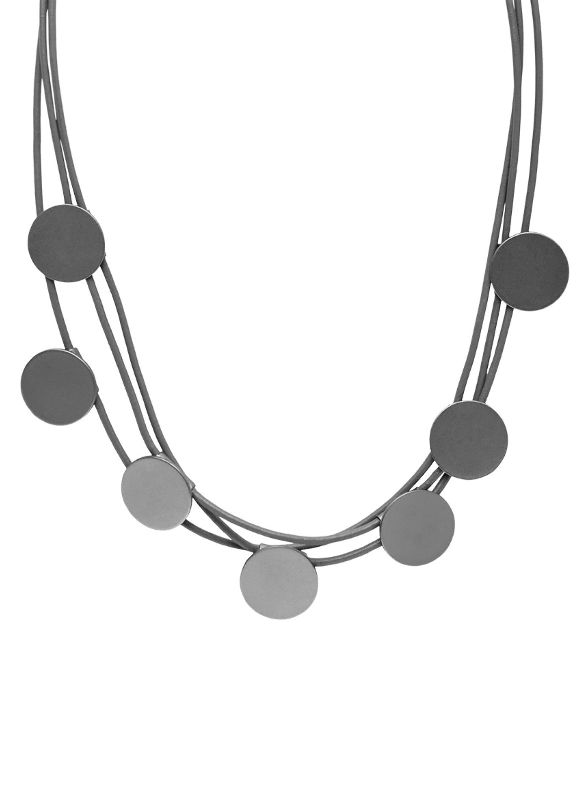 London Stop Dots Design Necklace