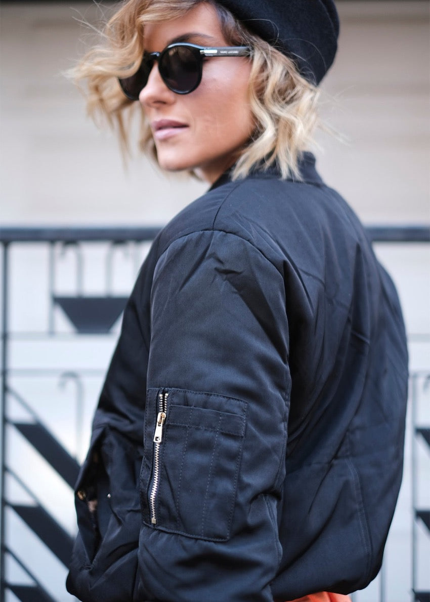 Neo Romantic Bomber Jacket