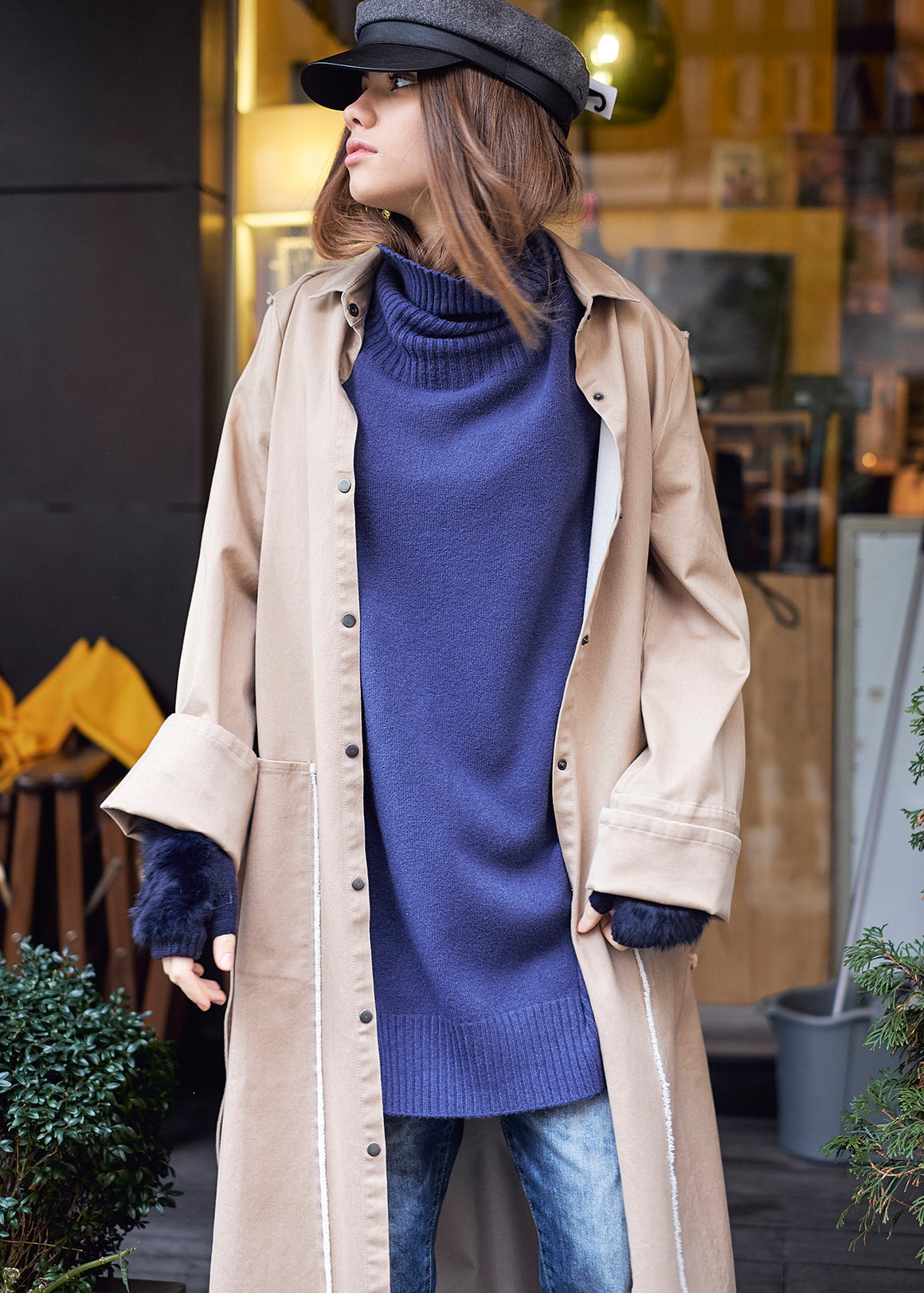 Ioanna Kourbela Stable Feminity Long Coat