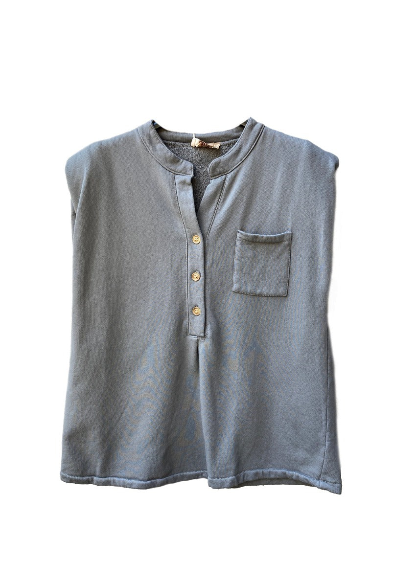 Fall Cotton Padded Tee With Muscles