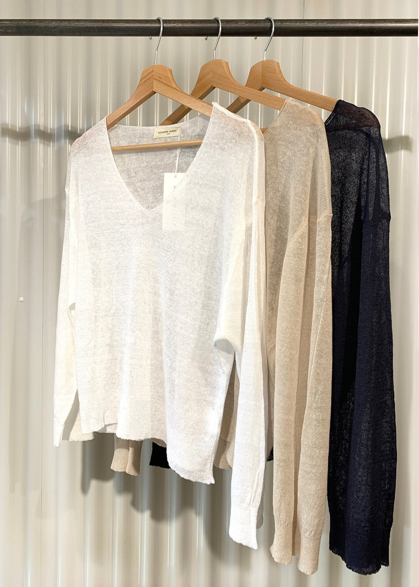 Airy V Sweater