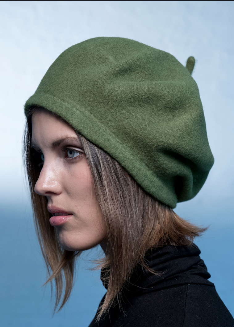 Woollen Conical Beret