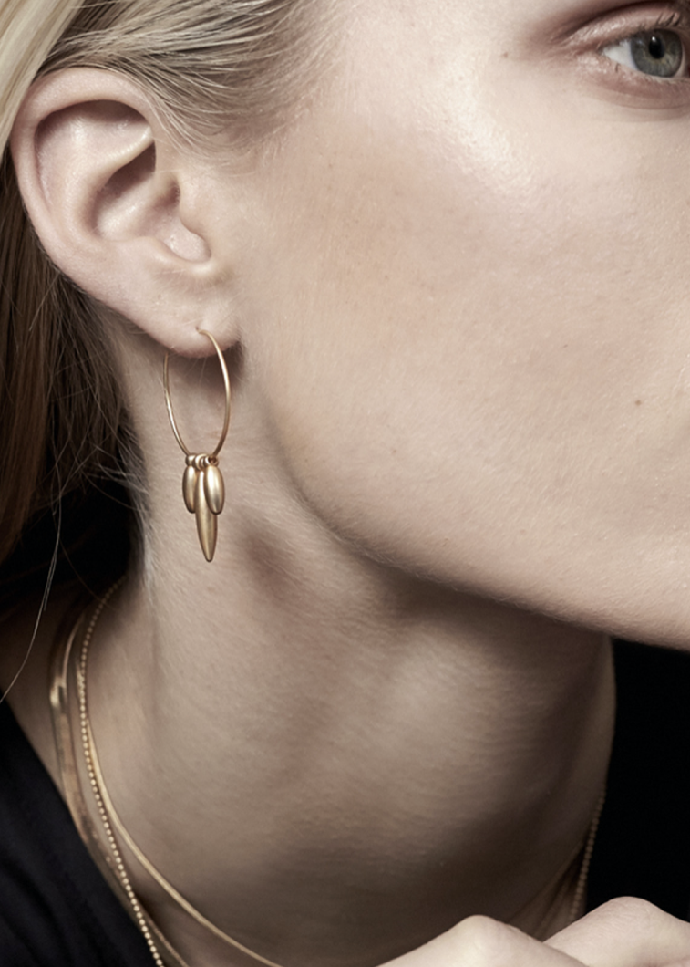 In Bloom Gold Plating Earrings