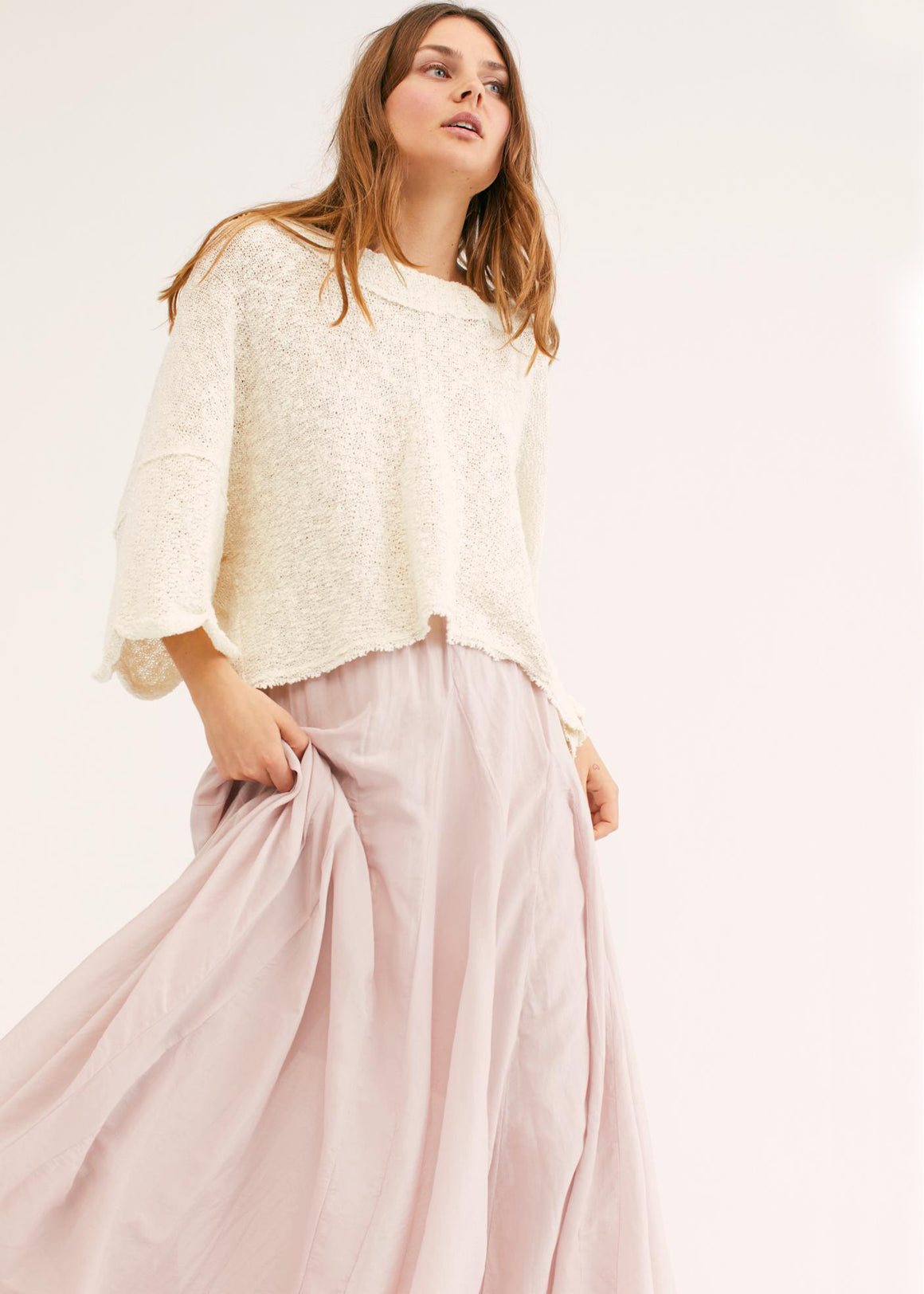 Cool For Coolest Girl Crepe Skirt