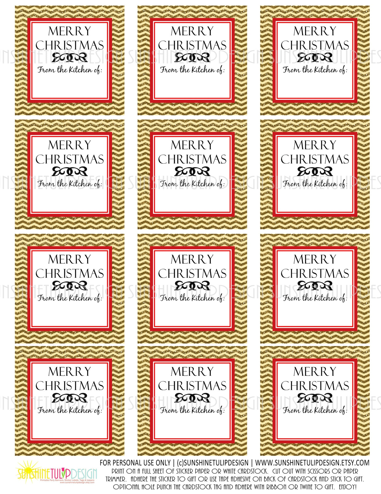 image regarding Printable Christmas Gift Labels referred to as Printable Xmas Foods Labels, Baked With Enjoy Xmas Present Tags, Xmas Food items tags