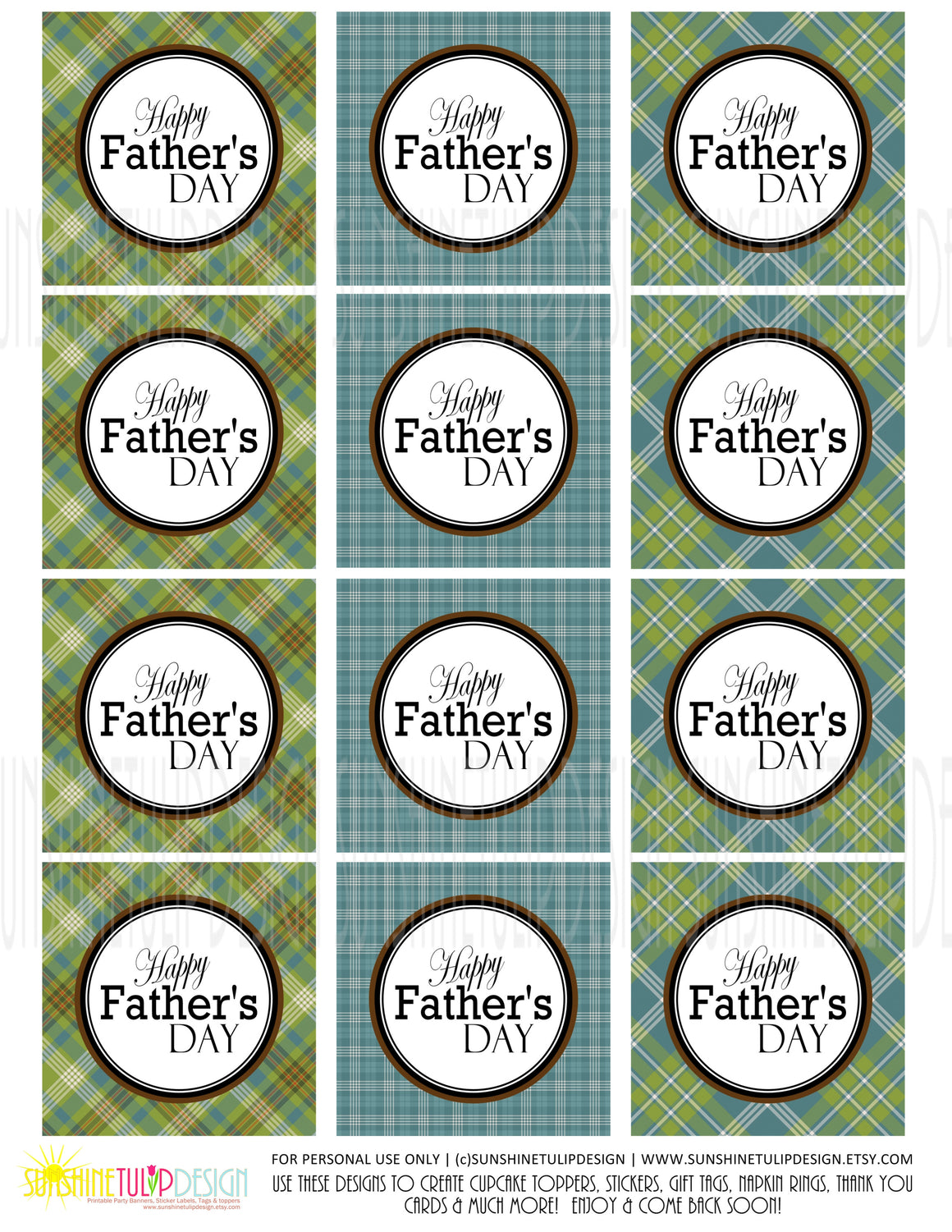 photograph about Happy Father's Day Banner Printable known as Goods Tagged \