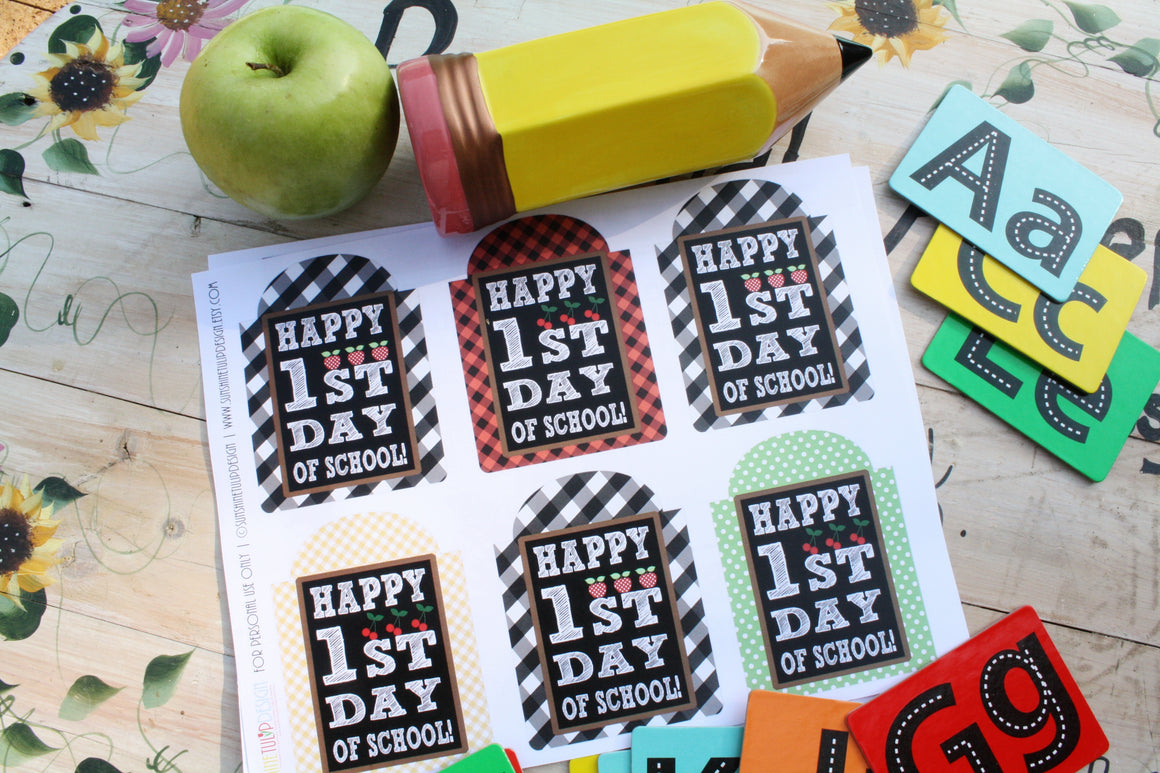 Back To School Gift Tags Teacher Appreciation