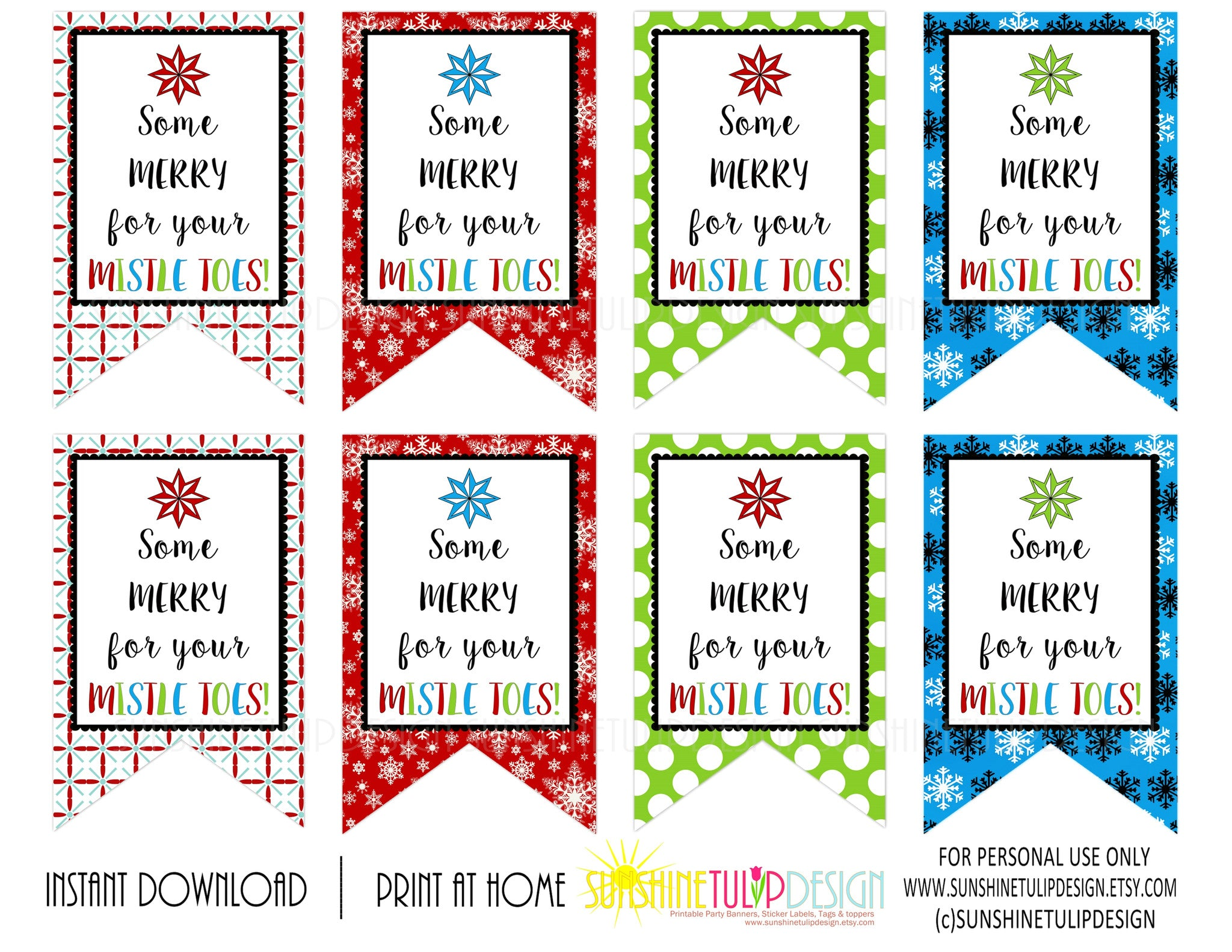 image relating to Printable Gift Labels referred to as Printable Trainer Appreciation tags, For Your Mistletoes Present Tags, Nail Polish Reward Tags through SUNSHINETULIPDESIGN