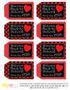 Printable PTSA Tags, Welcome Back to School Buffalo Plaid Teacher Tags, Printable Teacher Appreciation Gift Tags by SUNSHINETULIPDESIGN