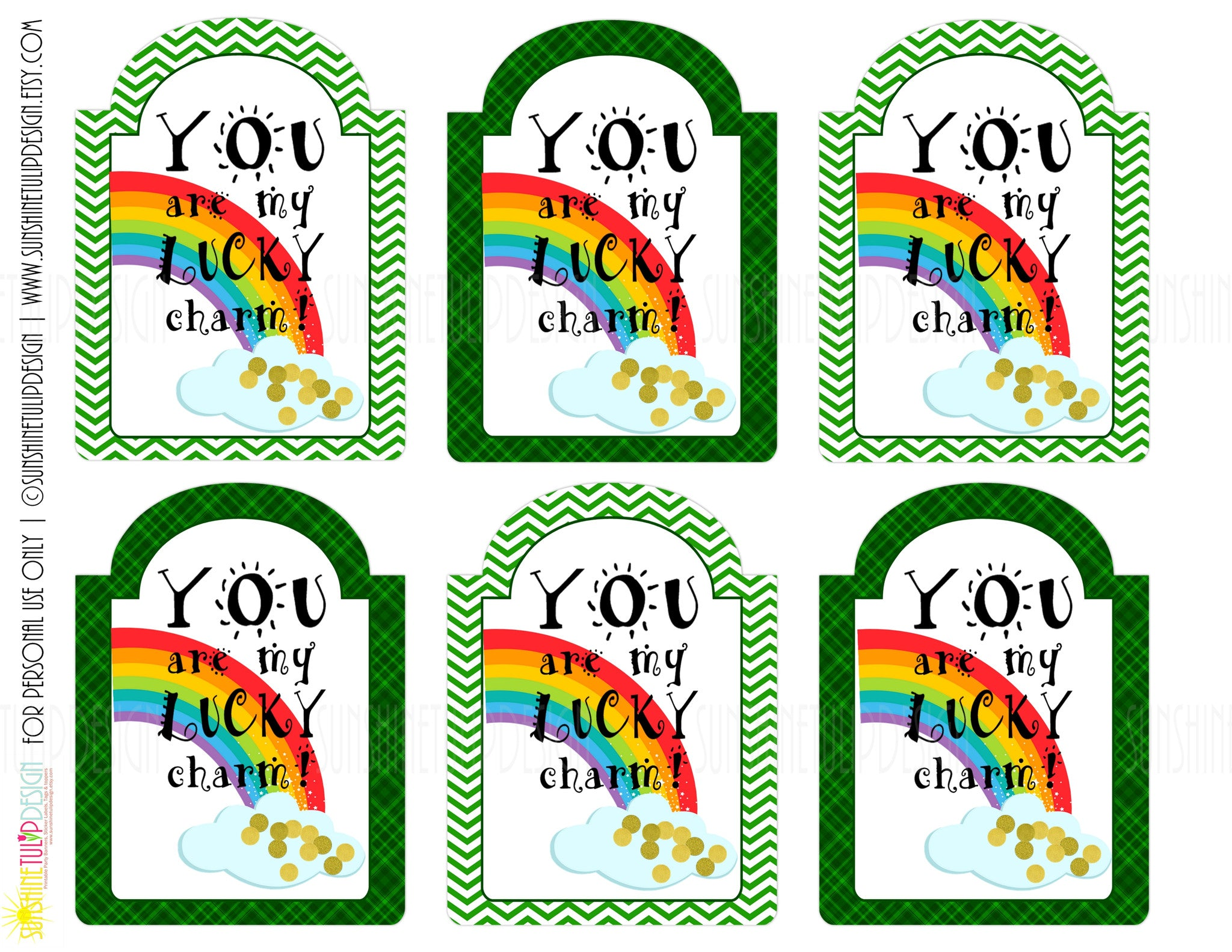 graphic regarding Teacher Appreciation Tags Printable referred to as Printable Fortuitous Attraction Present Tags, St Patricks Working day Present Tags, Trainer Appreciation Tags, Fortuitous Charms cereal take care of by means of SUNSHINETULIPDESIGN