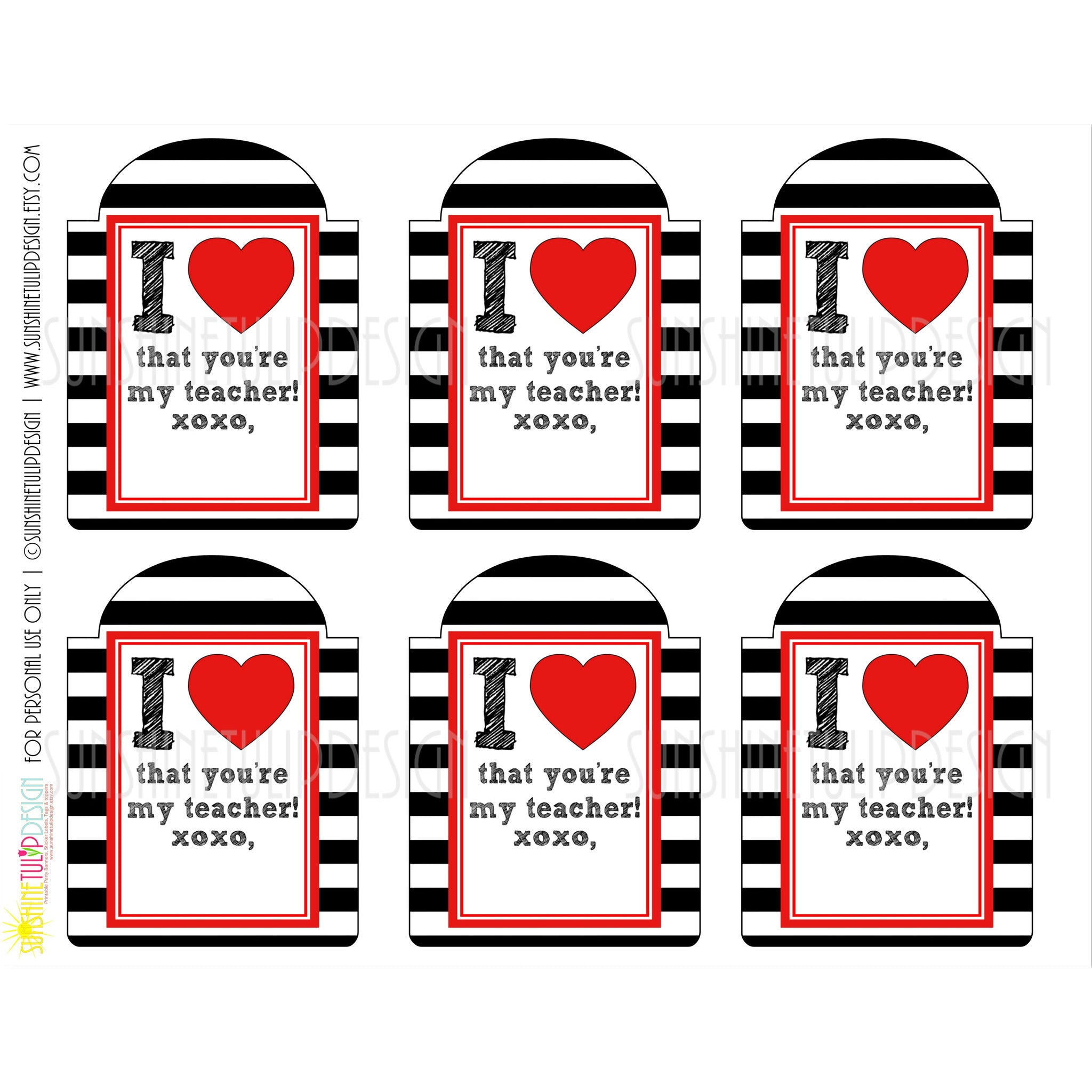 photo regarding Teacher Appreciation Tags Printable titled Printable Welcome Back again in direction of Faculty Tags, Printable Instructor Appreciation Present Tags, Instructor Xmas Reward Tags via SUNSHINETULIPDESIGN