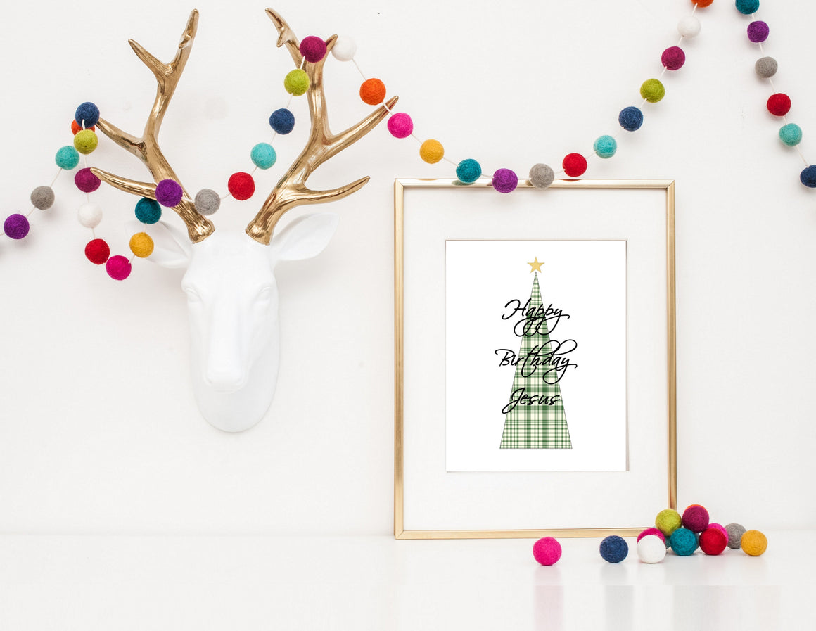 printable christmas print art