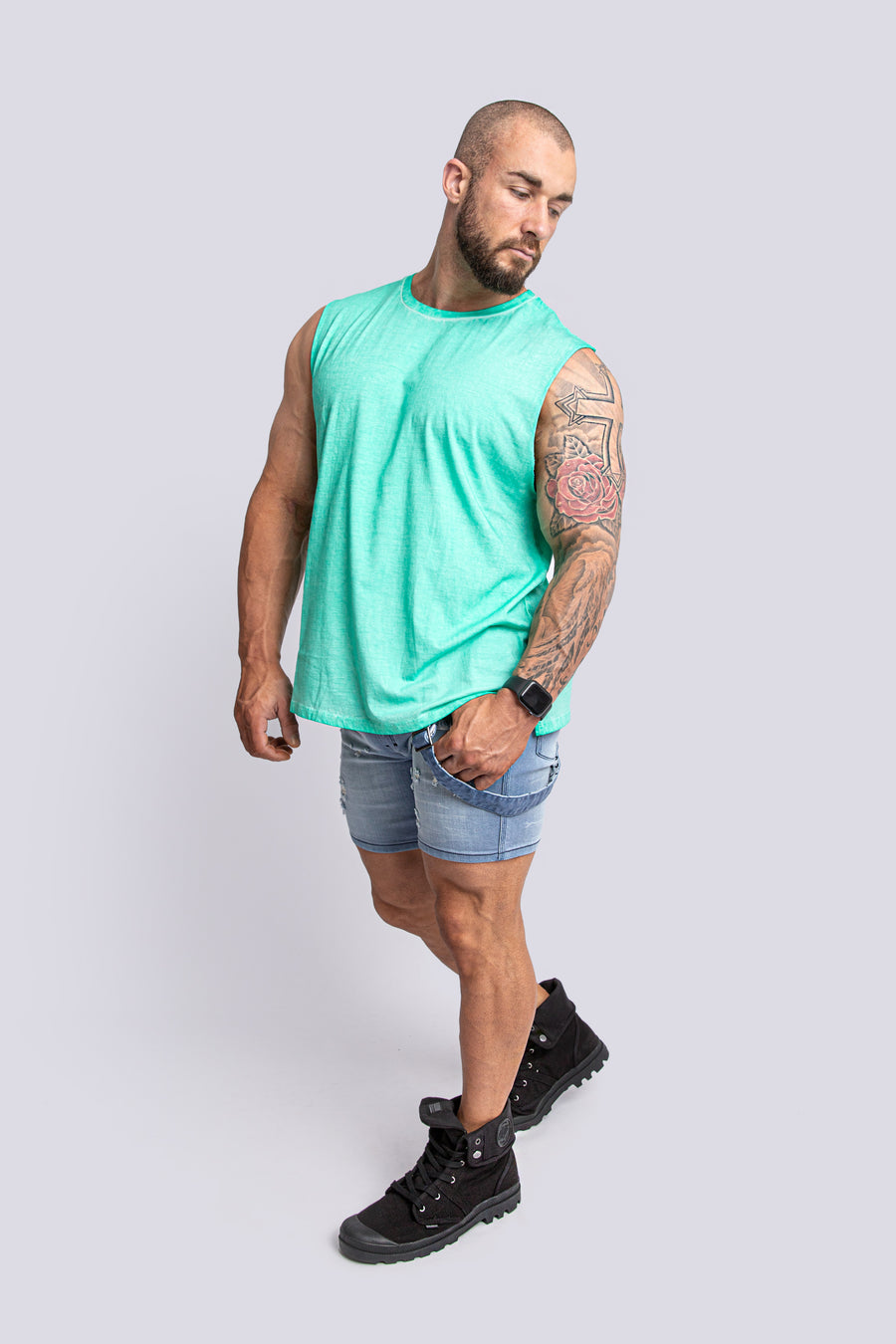 FRANK MINT GREEN TANK TOP