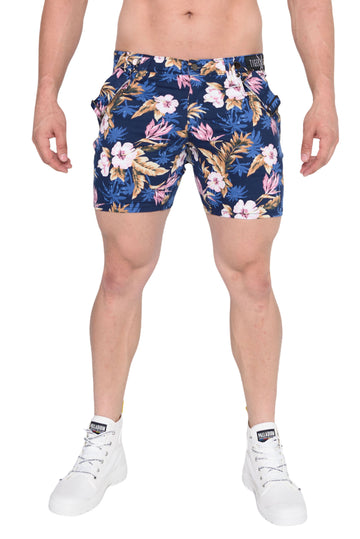 Tyrone Blue Hawaiian Short