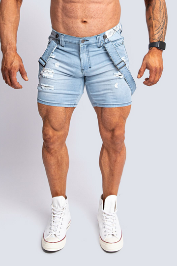 ROMEY ICE BLUE X-STRETCH SHORT- limited sizes.