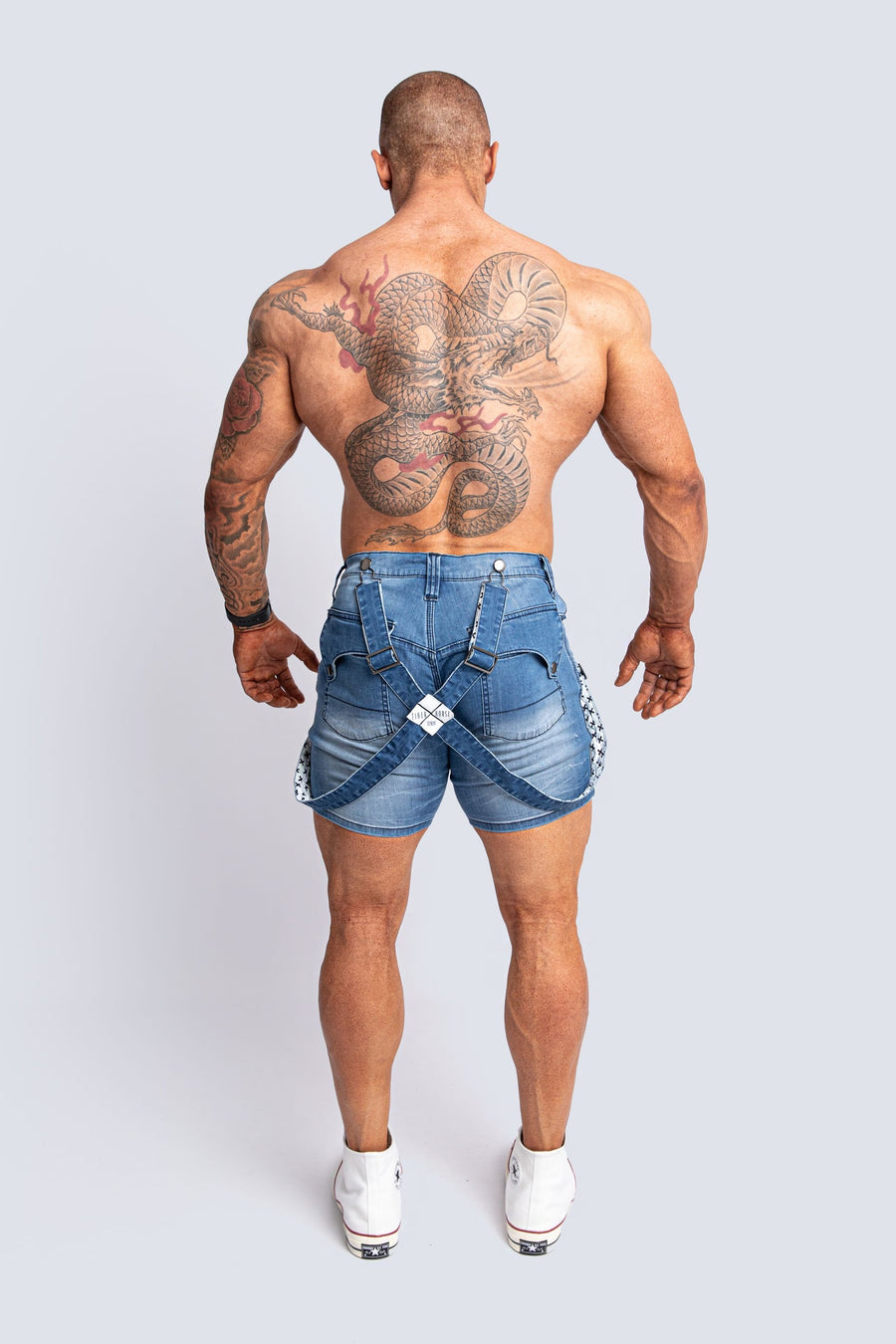ROMEY SKY BLUE DENIM SHORT