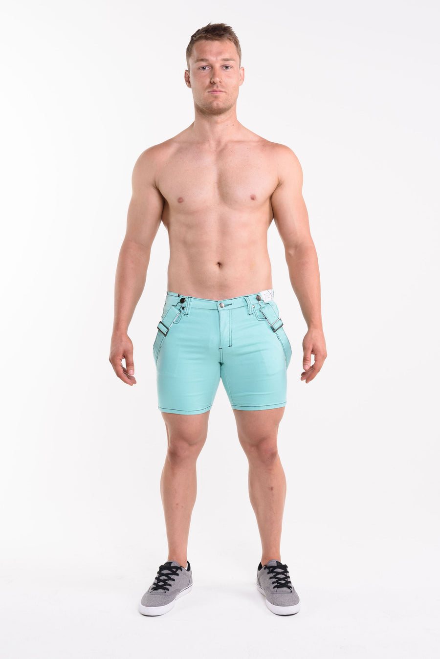 JOSH Reef Green Short