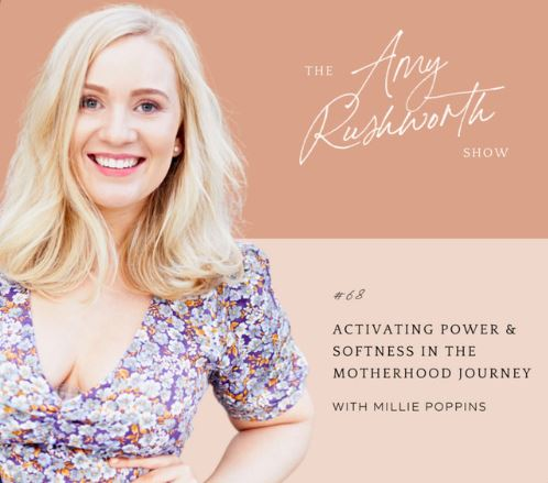 Episode 68: Activating Power & Softness In The Motherhood Journey
