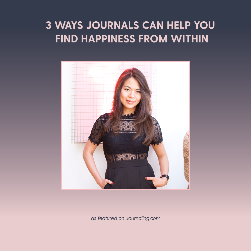 3 Ways Journals Can Help You Find Happiness from Within