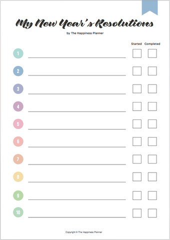 Printables | The Happiness Planner®
