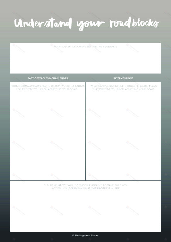 Premium Printables: #Goals II - The Happiness Planner®