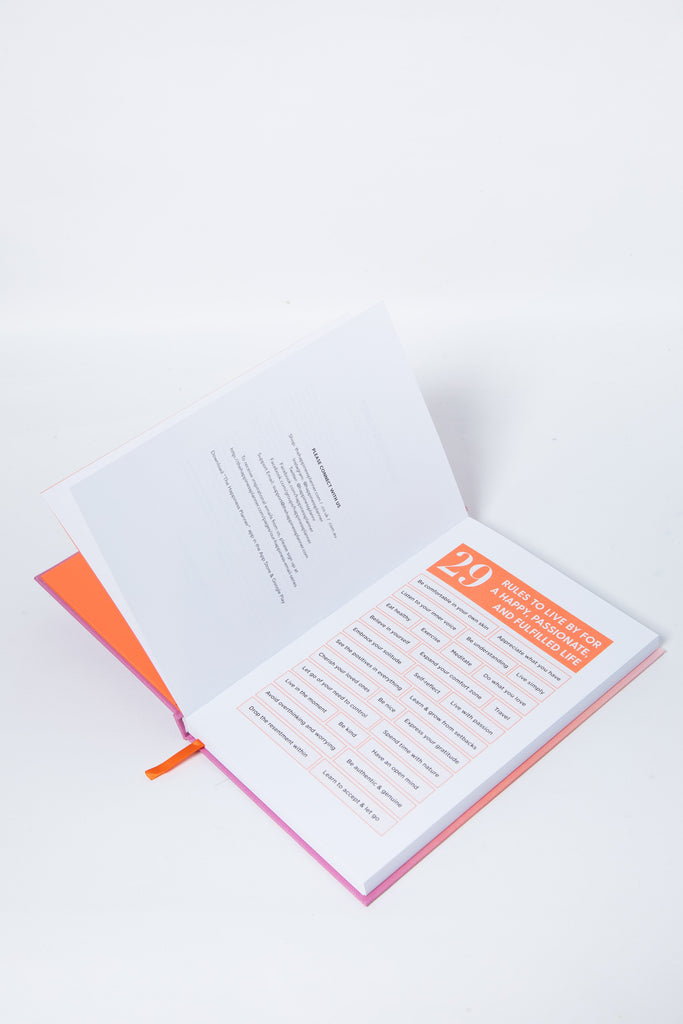 The 100-Day Planner | Orange & Pink - The Happiness Planner®