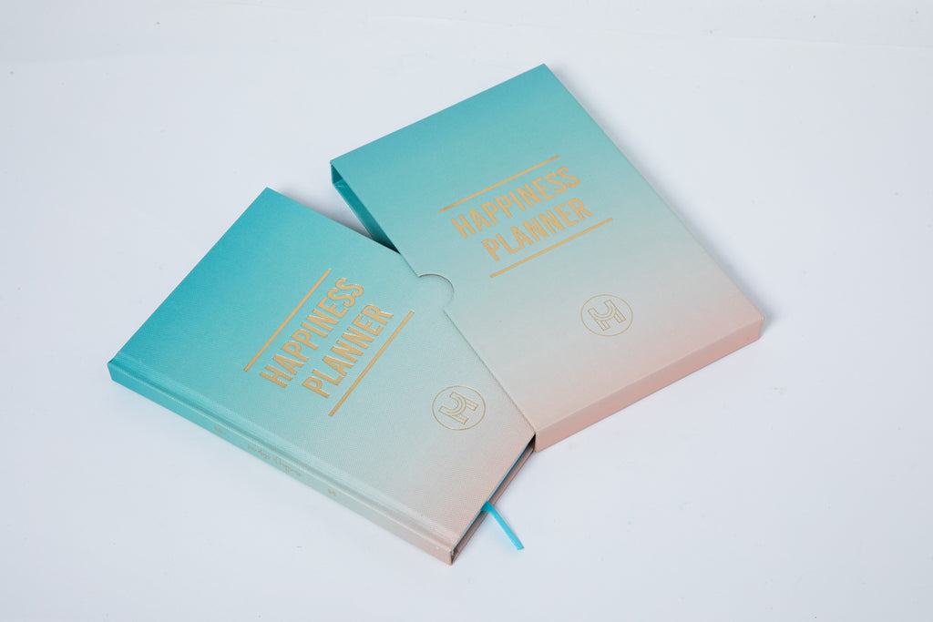 The 100-Day Planner | Mint & Cream - The Happiness Planner®