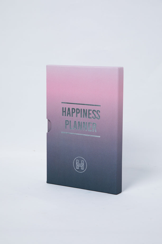 The 100-Day Planner | Pink & Charcoal - The Happiness Planner®