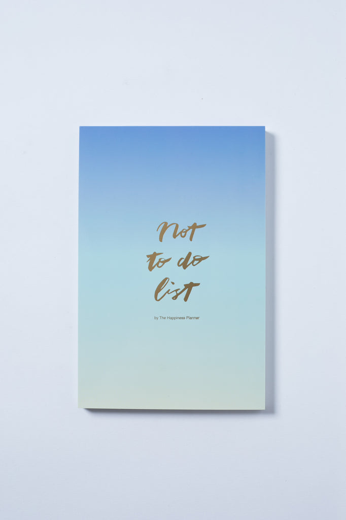 """Not To-Do List"" Notepad"