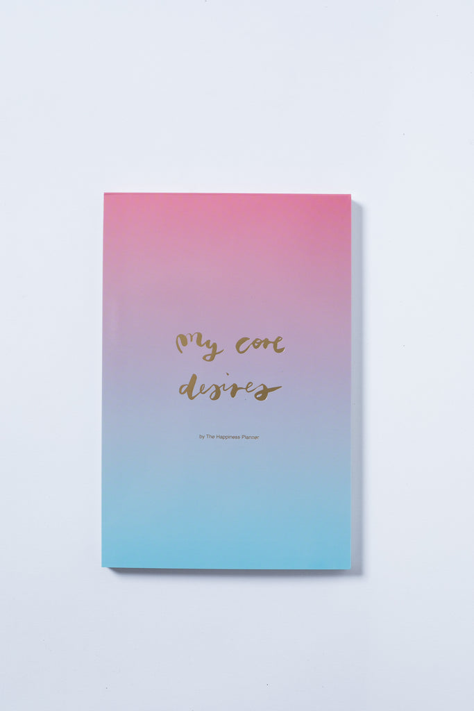 """My Core Desires"" Notepad"