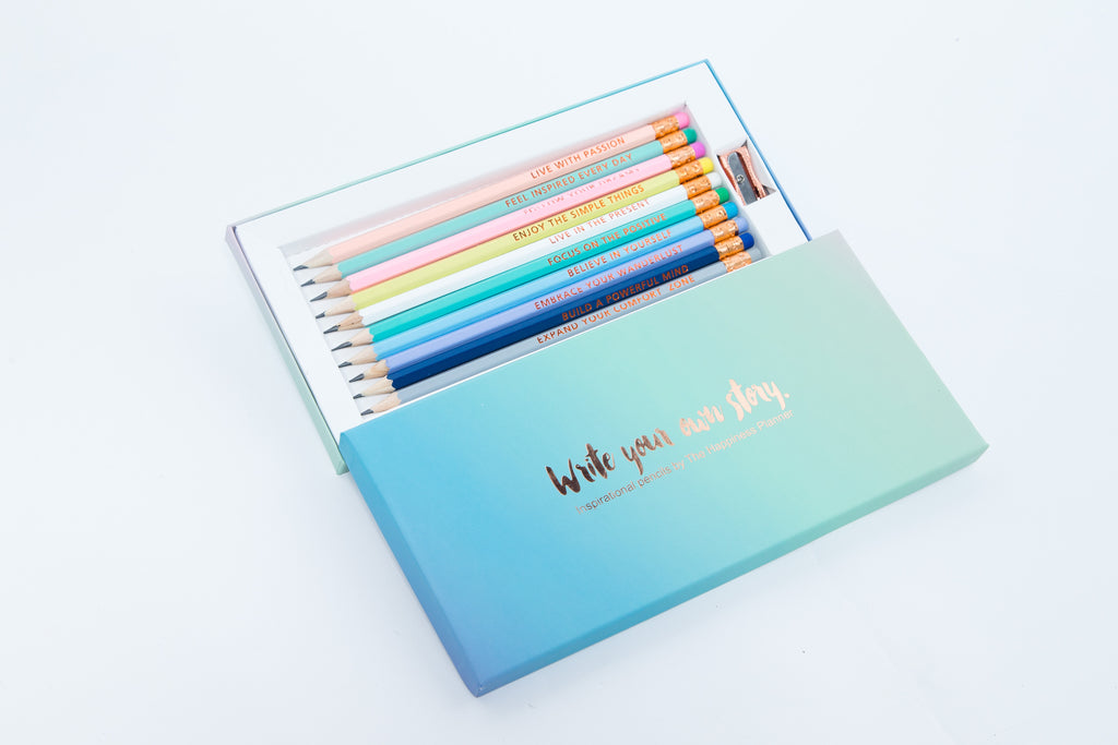 Inspirational Pencils - The Happiness Planner®