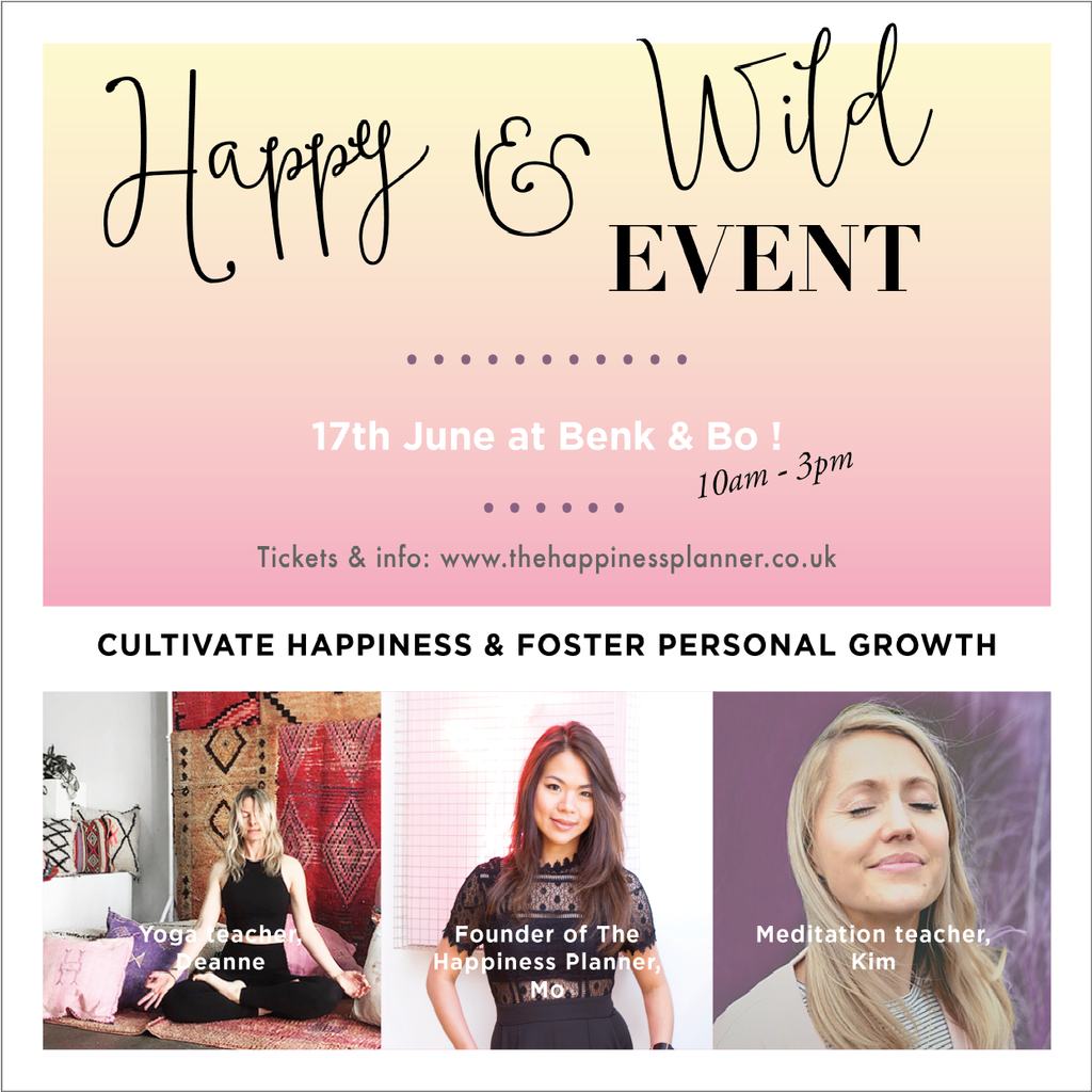 Happy & Wild Event Series | London | June
