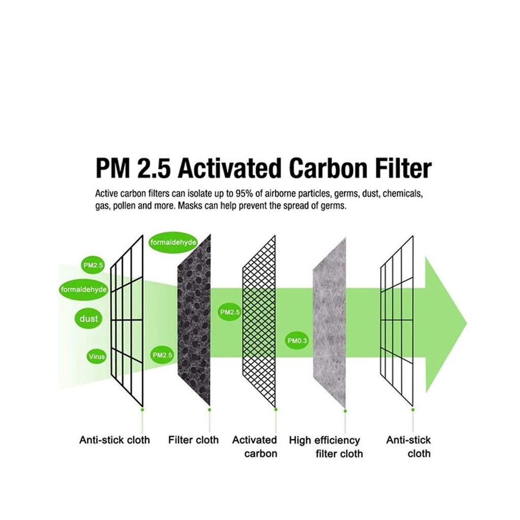 PM2.5 Mask Filters (Packs of 20)