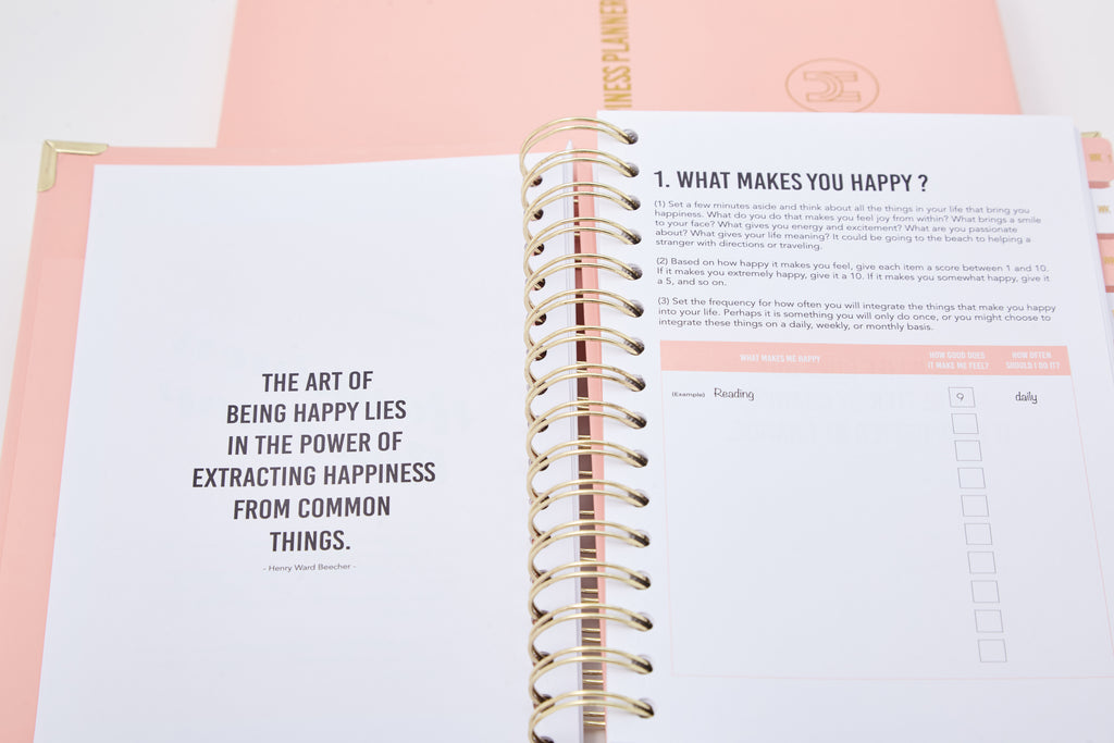 The 52-Week Journal (2for1) - The Happiness Planner®