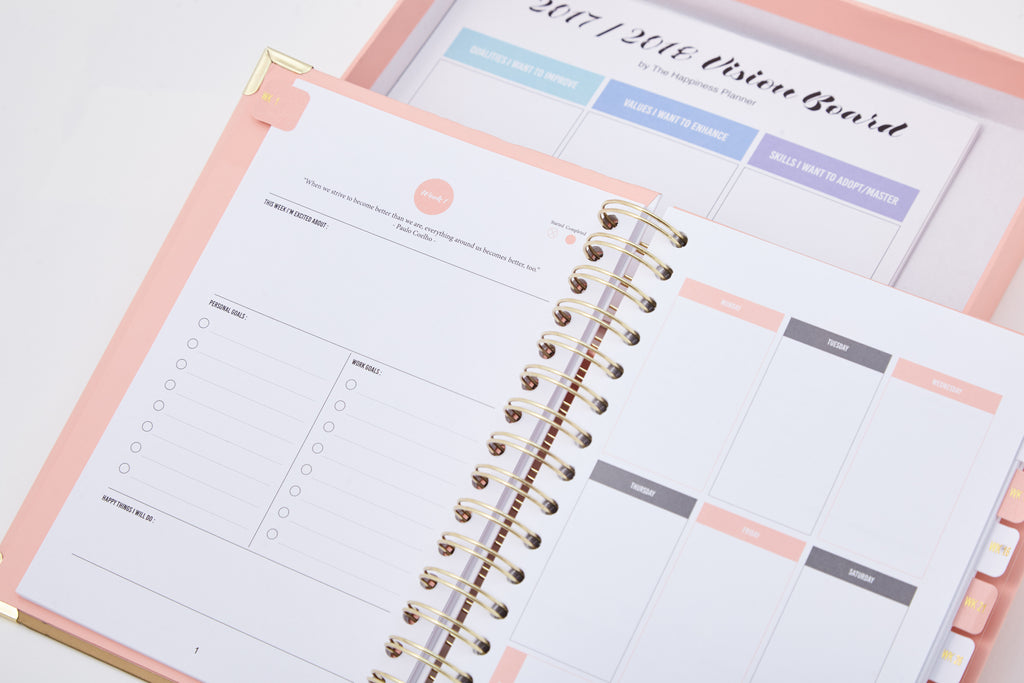 The 52-Week Journal - The Happiness Planner®