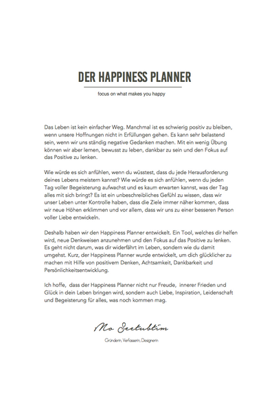 The 100-Day Planner (Deutsch)