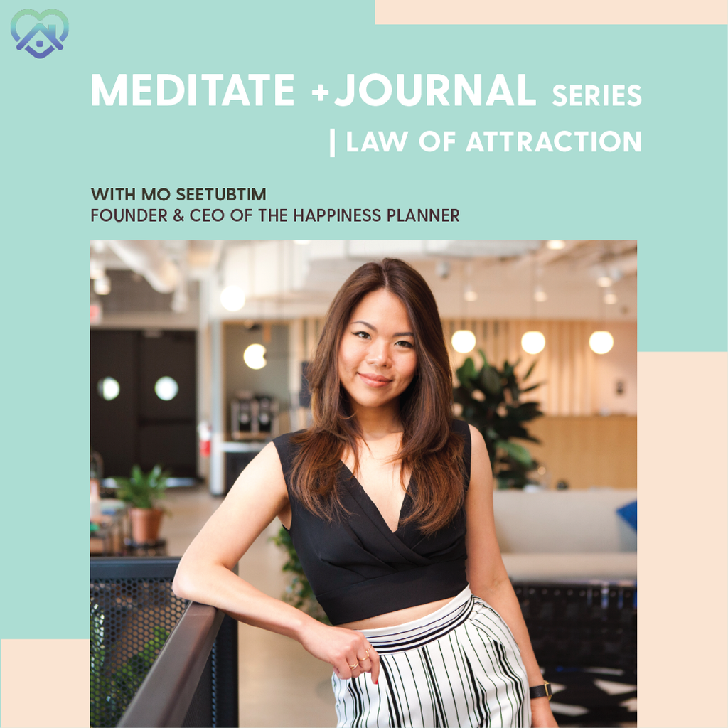 Workshop: Meditate + Journal | Law of Attraction - The Happiness Planner®