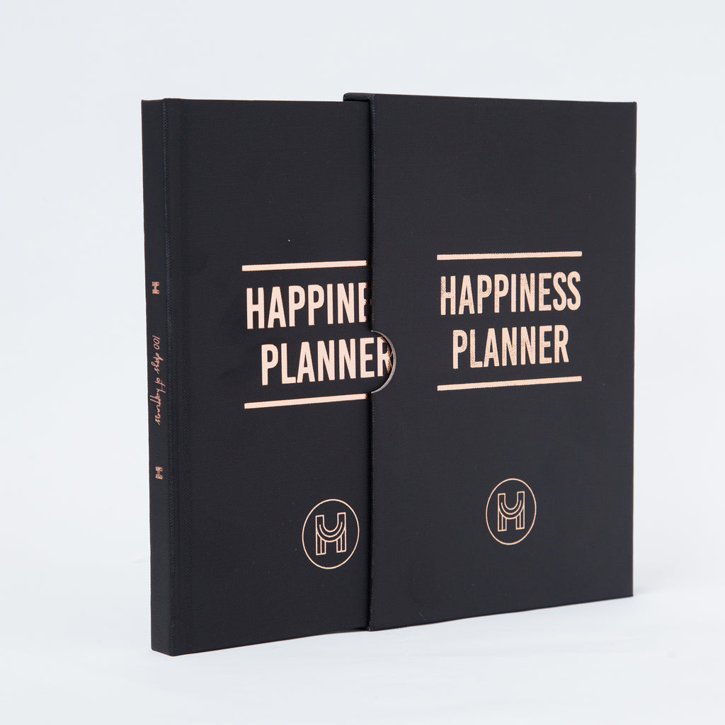 The 100-Day Planner | Black & Gold - The Happiness Planner®